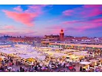 Holiday to Morocco Marrakech all inclusive 4 people in Christmas holidays