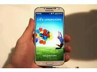 White unlocked Samsung galaxy s4