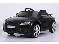 Audi TT kids ride on 12volt cars with remote