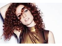 2x JESS GLYNNE Tickets! 13th August