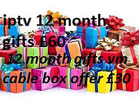 12 MONTH LINES SKYBOX V9 CABLE AMIKO ZGEMMA H2H ISTAR MUTANT EVO OPENBOX MAG BOX