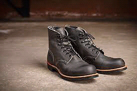 Red Wing - 8116  - Iron Ranger Boot - Charcoal Rough and Tough