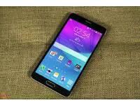 Samsung Galaxy Note 4 mint condition black colour! ! Unlocked 4G