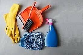 Cleaning work available message for info
