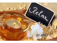 Relaxing massage by anna
