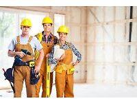 Tilers, Plumbers, Welders, Bricklayers, Carpenters, Dryliners, Tape & Jointers and Laborers Wanted.