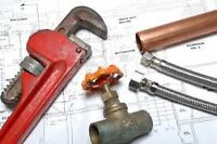 Full Time Licenced Plumber with Gas licence - SUDBURY