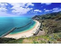 2 return flight tickets London - Tenerife Island 27.DEC - 01.JAN