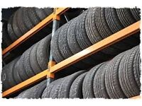 New & Part Worn Tyres Available, Wide Range of Sizes, Will not Be Beaten on price