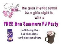 Ann Summers girls night in