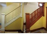 paint stripping wood restoration all areas glasgow domestic and commercial