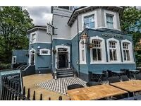 Work Hard, play hard. Experienced bar/waiting staff needed for a busy pub in Sydenham Hill
