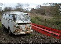 Wanted Old Camper Van for Restoration Project