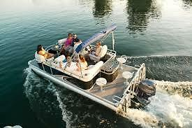 "ALL NEW ""MINI"" LUXURY PONTOONS FOR WESTERN CANADA"