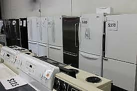 *** Fridges Starting $250 to $490 Used Appliance SALE at 9267 - 50 Street