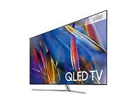 65'' SAMSUNG QLED SMART 4K HDR LED TV.QE65Q7FAM.FREEVIEW HDR 1500.FREE DELIVERY/SWTUP TODAY.