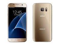 Samsung Galaxy S7 Gold Platinum 32gb Unopened Unlocked