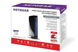 Netgear N600 Wireless Dual Gigabit DSL Modem Router DGND3700V2 Cambridge Kitchener Area image 1