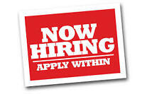 GIVE US A TRY (WHAT DO YOU HAVE TO LOSE?) F/T $16-19/HR