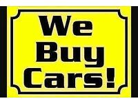 Used cars bought for cash