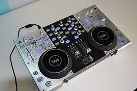 Hercules 4mx DJ Controller with case and software