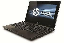 HP Mini 5103 , Intel Atom CPU N455 1.7 GHz , Ram - 2 GB , Storage - 250 GB HDD , 1024 x 600 Resolution ...