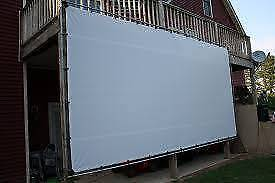Outdoor Movie Projector Screen - Brissy Outer Northside