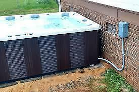 HOT TUB MOVING INSTALL SERVICES ( complete packages with financing available )