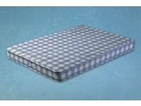 Brand New Comfy 4ft6 Comfy Double Standard Mattress FREE delivery Factory sealed