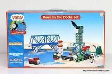 Thomas the tank engine - Down by the Docks - wooden - new!! Rose Bay Eastern Suburbs Preview