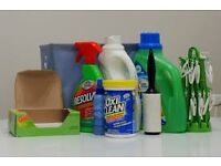 Moving House - Lots of Laundry/Cleaning Products for Cheap - Detergent, Fabric Softener, etc.