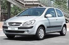 CHEAP CAR Hyundai Getz FOR HIRE OR RENT Lathlain Victoria Park Area Preview