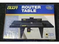 Powercraft Router table model 255.