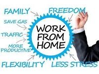 Work from home. Part time earn £250 or more