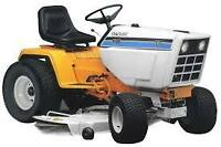 Lawn tractors/snowblowers wanted any condition free pickup