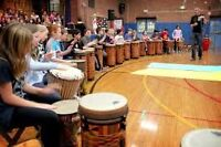 DRUM CIRCLE - June 2nd for beginners and experienced drummers