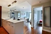 2 bedroom apartment on the Canal in Griffintown