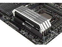 Corsair 2666 DOMINATOR Platinum Series 16GB (4 x 4GB) DDR4 DRAM 2666MHz (CMD16GX4M4A2666C16)