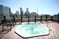 SPACIOUS 950+ SQ FT 1+1 BED 1.5 BATH DOWNTOWN TORONTO