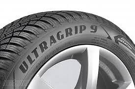 2 x Goodyear Ultragrip 9 Winter Tyres