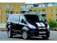 Ford Transit Custom SPORT body kit & tailgate spoiler-BNIB painted in PANTHER BLACK LWB bodykit
