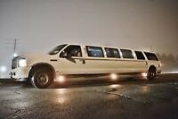 HAMILTON limo birthday casino night out limousine ☎️
