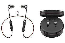 Sennheiser HD1 Free In-Ear Bluetooth Headphones with Mic - Black brand new sealed.