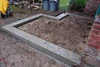 !!!!!!!!!!!!!!CONCRETE FOOTINGS AND mOrE !!!!!!!!!!!!!!!