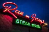 Rae & Jerry's Now Hiring Experienced BROILER COOK