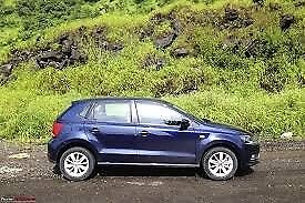 1 OWNER POLO AUTOMATIC 1.4 2014 PLATE IN NAVY BLUE FOR QUICK SALE!