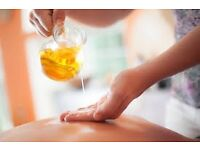 Swedish massage (warm oil) £30 per hour, 2 hrs £50, 30 mins £20