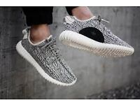 BNIB MENS YEEZY 350 BOOST TURTLE DOVE STUNNING QUALITY UK SIZE 9 RRP KANYE WEST £300 SOLD OUT