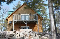 Cottage WahWashKesh Lake, Private Point, Road Access