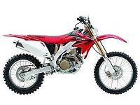Honda CRFX 450 WR420 KTM 350 XR400